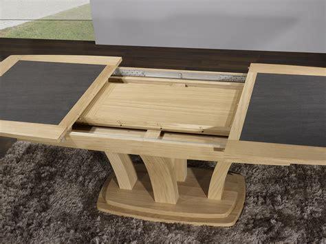 table contemporaine table repas contemporaine bois