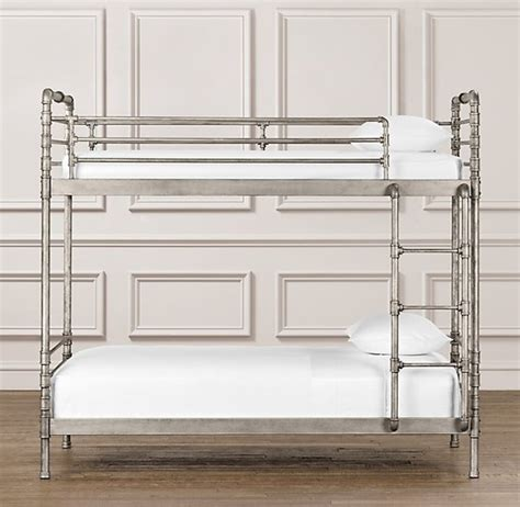fancy bunk beds fancy industrial steel pipe bunk bed