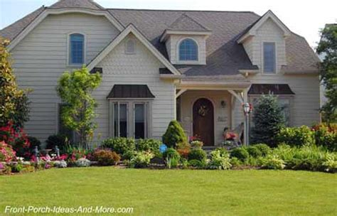 House Plans With Front Porch Front Porch Landscaping Ideas Front Yard Landscaping