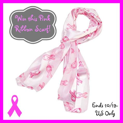 Pink Giveaway - style decor more win a pink ribbon scarf