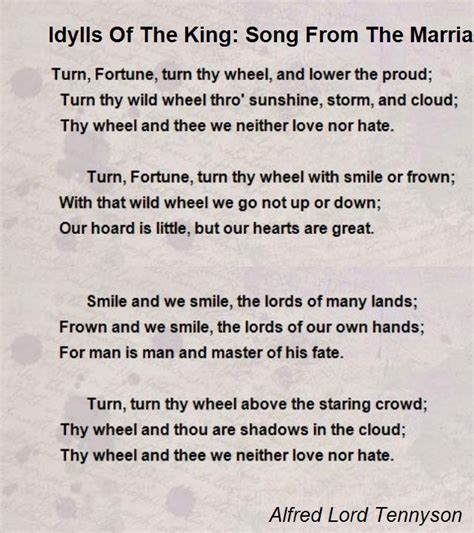 idylls   king song   marriage  geraint poem  alfred lord tennyson poem hunter