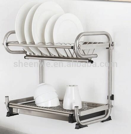 guangzhou kitchen wall hanging rack stainless steel