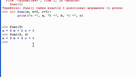 tutorial python functions python 3 tutorial 6 more functions youtube