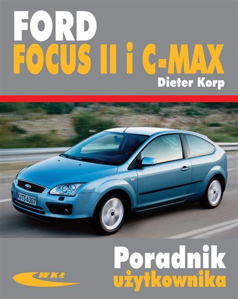 ksiazka ford focus ii   max dieter korp wydawnictwa wkl