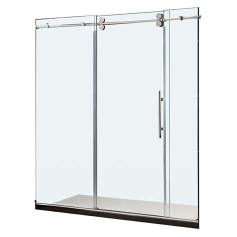 bathroom doors lowes 1000 ideas about frameless sliding shower doors on