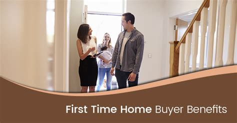 4 benefits time home buyers should take advantage of