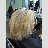 Dark Brown And Blonde Chunky Highlights | 736 x 981 jpeg 100kB