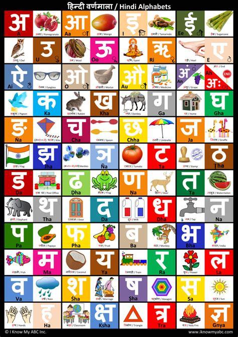 printable hindi alphabet image gallery hindi alphabet chart print