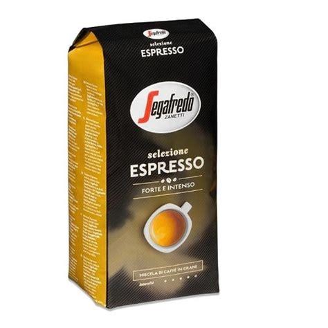 segafredo zanetti espresso segafredo selezione espresso 1kg kaffi