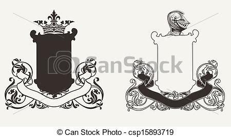 vetor de dois cavaleiros imagens de stock royalty free clip arte vetorial de dois her 225 ldica cavaleiro cristas
