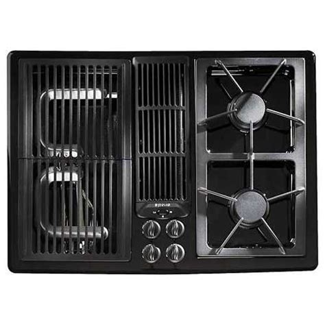 Jenn Air 30 Inch Gas Cooktop shop jenn air 174 30 inch gas downdraft cooktop color black at lowes
