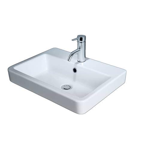 bathroom sinks bunnings caroma basa inset basin 1th bunnings warehouse