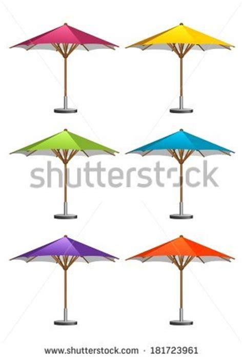 Patio Umbrella Vector Umbrellas At Cafe Outdoor Stock Photos Images Pictures