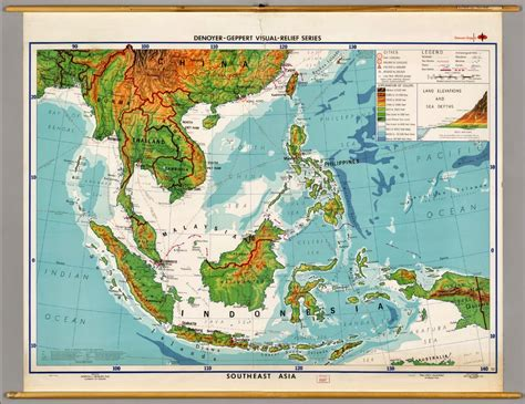 southeast asia map physical maps of southeast asia free printable maps