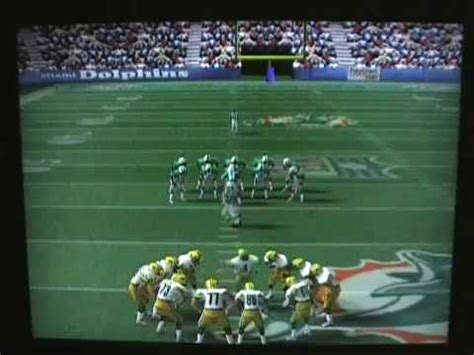 nfl quarterback club   gameplay review youtube