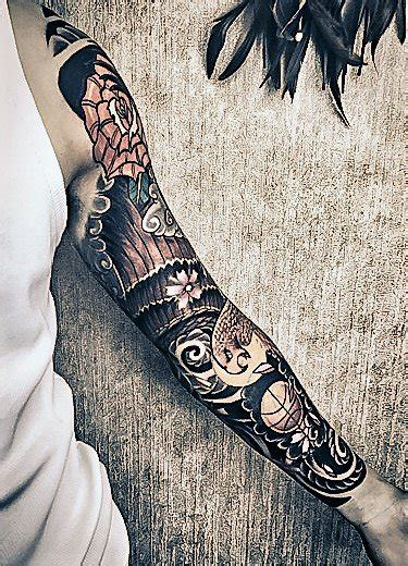 tattoo sleeve singapore tattoo sleeves singapore tribal patterns japanese motifs
