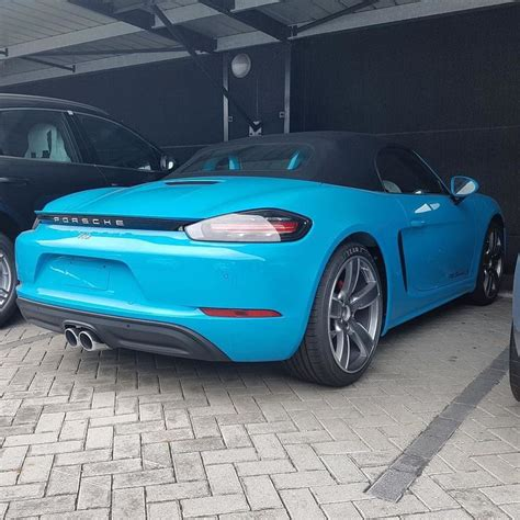 miami blue porsche boxster 9 best miami blue porsche images on pinterest miami