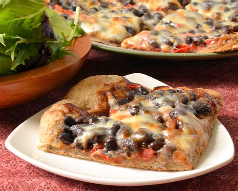 black 4 dollar pizzas bbq black bean pizza food doodles