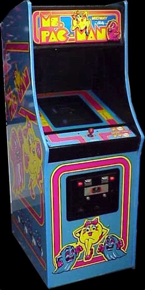 ms pacman arcade cabinet ms pac rom