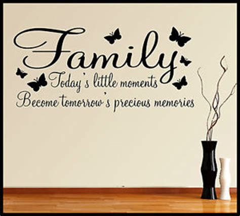 wall stickers words and phrases family wall sticker quote words phrases sayings home