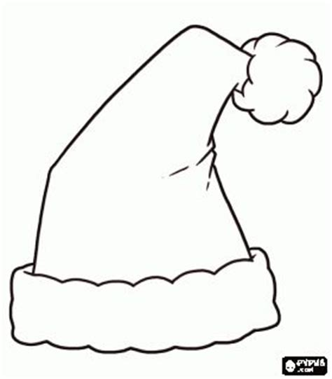 christas hat template santa s hat coloring page bjl digis coloring photo booths and