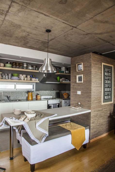 foto cocina comedor integrada al living de pragmata