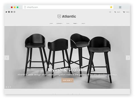 best modern furniture websites 20 best free premium responsive shopify ecommerce themes 2017