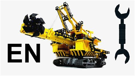 lego technic wheel excavator lego technic wheel excavator review