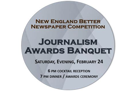 Journalism Awards by Better Newspaper Competition Journalism Awards Banquet Nenpa