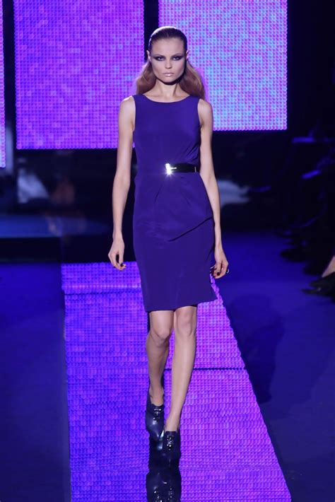 Versace 2009 Milan Fashion Week by Magdalena Frackowiak Photos Versace Fashion Show During