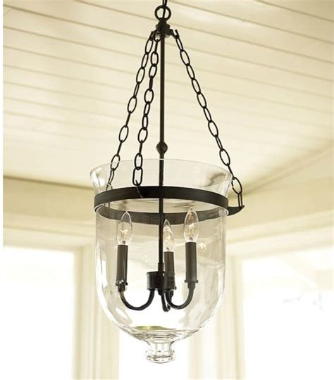 Pendant Lights Houzz Hundi Lantern Bronze Finish Traditional Pendant Lighting By Pottery Barn