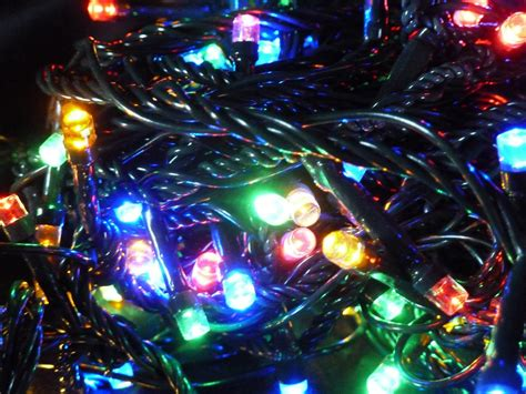 400 multi colour christmas tree fairy lights multi action
