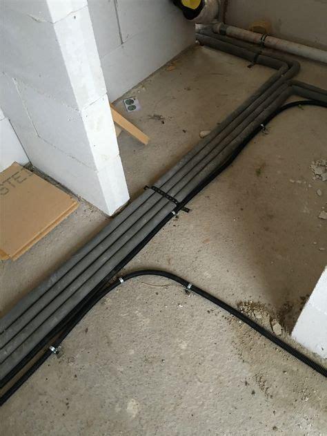 leerrohre verlegen hausbau   elektroinstallation