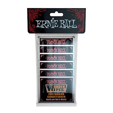 Ernie 4276 Wipes Fretboard Conditioner 6 Pack ernie wipes fretboard conditioner 20 pack guitar buy free scores