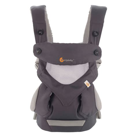 Ergo Baby 360 Carrier ergobaby carrier 360 176 cool air carbon grey babyjoe ch