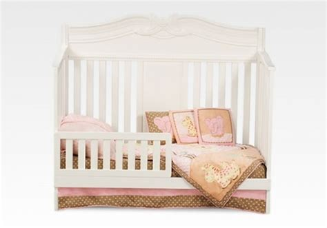Disney Princess Enchanted 4 In 1 Crib White Ambiance By Disney Princess Convertible Crib