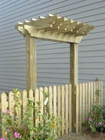 Fence Pergola by Fence Gates On Pinterest Fence Gates Gates And Arbors