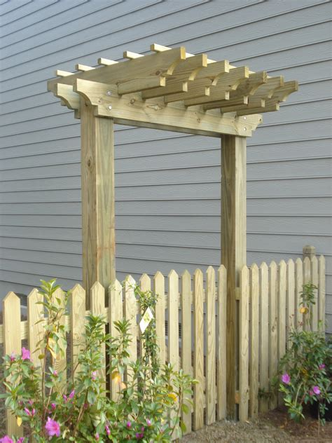 Fence Pergola Designs Outdoor Goods Fence Pergola Designs