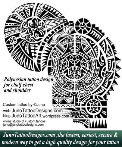 how to design a polynesian tattoo polynesian tattoos meaning how to create yours
