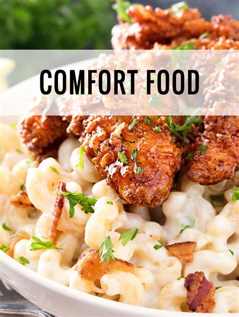 Comfort Food Entrees by The Chunky Chef Everyday Meals With A Dash Of Gourmet
