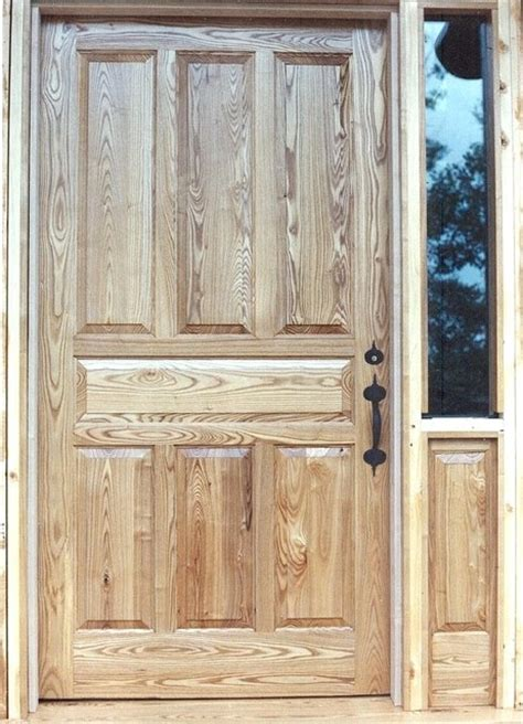 Oversized Front Door Oversized Oak 7 Panel Entry Door Traditional Front Doors Other Metro By Huisman