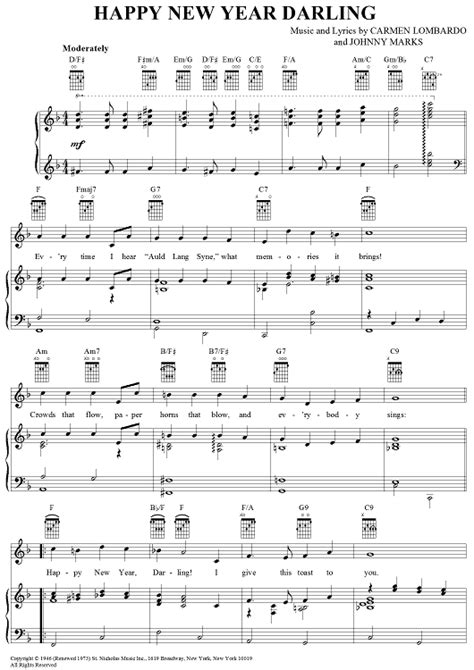 new year song midi happy new year sheet for piano and more