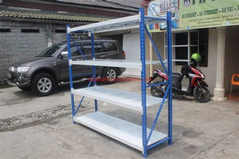 Rak Besi Di Medan jual rak gudang light duty rr36