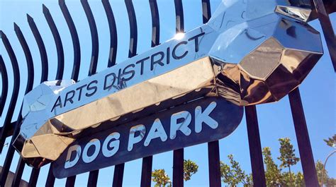 district dogs arts district park los angeles river artists business association