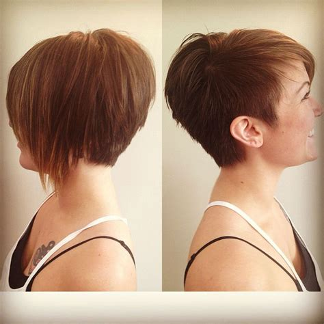 how to cut one side shorter and the other longer haircuts 400 best hairstyles images on pinterest hair cut