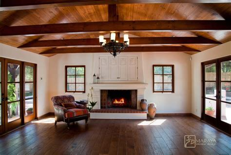 interior design santa barbara revival home farmhouse family room other metro by maraya interior design