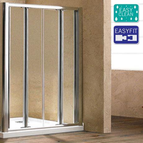 Matrix Shower Doors Matrix 1850mm Bi Fold Shower Door Now At Plumbing Co Uk