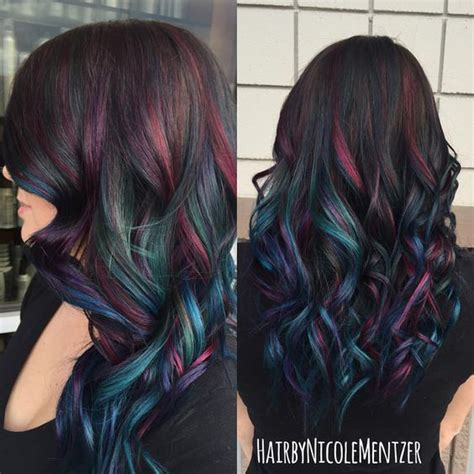 peek a boo hair color ideas 15 sumptuous peekaboo hair color ideas hairstylec