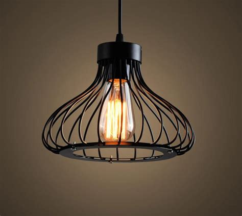 wire cage pendant light popular wire cage light fixture buy cheap wire cage light