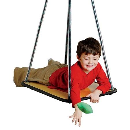 platform swing therapy theragym 174 rectangle platform swing flaghouse